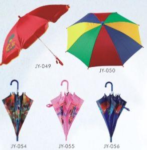 Auto Open Colorful Kid Umbrella (JY-049) pictures & photos