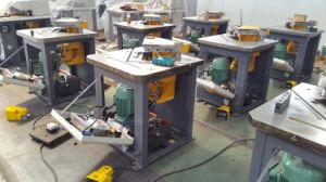 Fixed Corner Qf28y 6X250 90 Degree Notching Machine pictures & photos