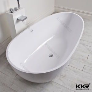 Wholesale Solid Surface Acrylic Freestanding Bath Tub (BT1708086) pictures & photos