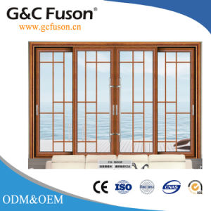 Fuxuan 10years Warranty Commercial Aluminum Profile Sliding Door pictures & photos