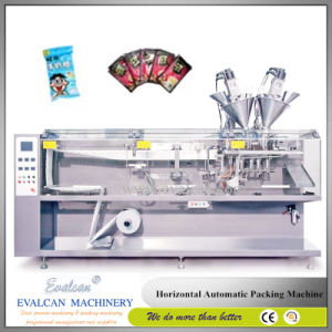Automatic Small Twin Link Bag Pouch Form Fill Seal Packing Machine pictures & photos
