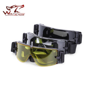 Wholesale Airsoft X800 Tactical Goggles of UV Absorption Gear Glasses pictures & photos