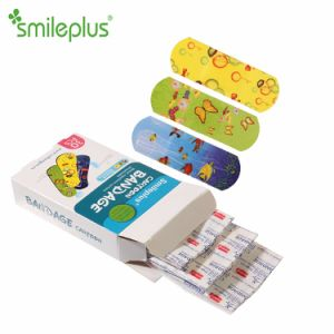 Cartoon PE Bandage for Kid Care in Pharmacy pictures & photos