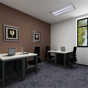 Customized Design Adjustable Half Round Home or Office Desk pictures & photos