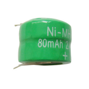 NiMH Button Cell Battery (80H 2.4V)