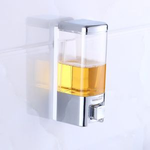 FLG Bathroom One Chamber Soap Dispenser with Ribbed Bottle Chrome pictures & photos