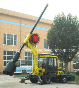 Multifunction Mini Wheel Pressure Rotary Drilling Rig (NPWP 5.5)