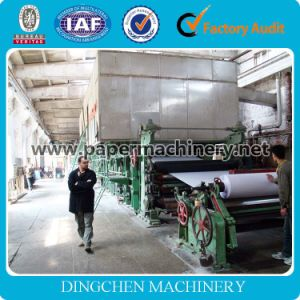 China New Design 25 T/D Newspaper/Newsprint/Copy Writing Paper Machine with Sugarcane Bagasse as Raw Material pictures & photos
