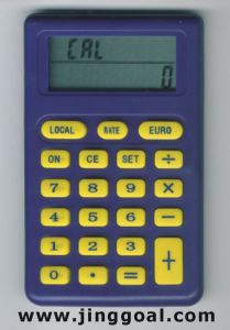 Euro Calculator (JC513) pictures & photos