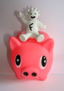 Piggy Money Coin Bank with Voice & LED light