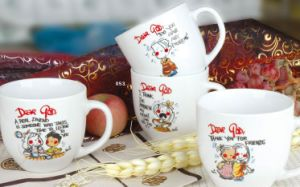 Porcelain Mug (HJ) pictures & photos