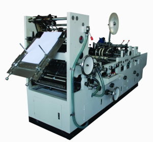 Full Automatic Envelope Forming & Flap Type Gumming Machine (ACZT-808A) pictures & photos