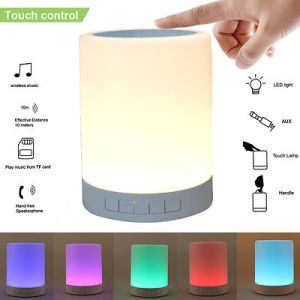 LED Table Lamp Alarm Clock Bluetooth Speaker for Phone pictures & photos