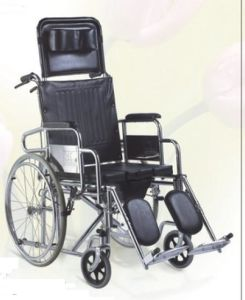 Commode Wheelchair and Commode Chair (SC-CW12(S)) pictures & photos