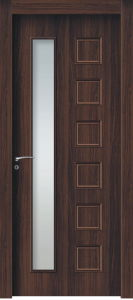 Wood Plastic Composite Door (KG15) pictures & photos