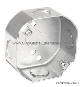 "3-1/2"" Octagon Ceiling Box (SBX-21455)"