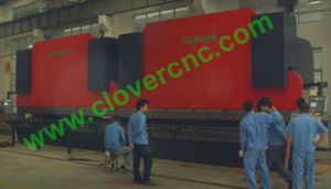 CNC Tandem Hydraulic Press Brake Metal Sheet Bending Machine (2-CLPB-ED 500T/6000)