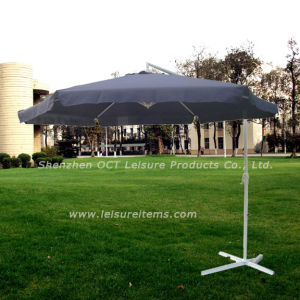 Navy Blue Cantilever Patio Umbrella with Flap (OCT-AU008F) pictures & photos