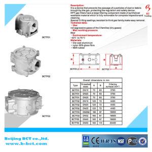 Aluminum Body Dn25 Natural Gas Filter pictures & photos