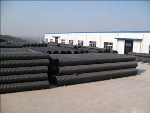Steel Reinforced Spirally Wound PE Drainage Pipe pictures & photos
