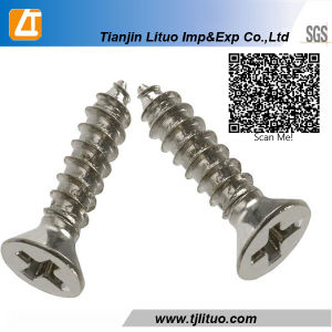 DIN7982 Phillips Countersunk Head Stainless Steel Self Tapping Screw pictures & photos