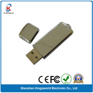 Simple Metal OEM Logo USB Flash Drive