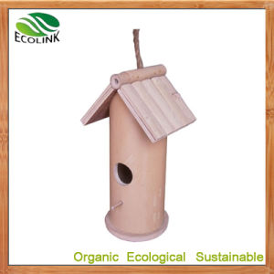 Custom Designer 100% Natural Bamboo Pet House for Bird pictures & photos