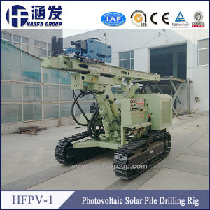 Hfpv-1 Solar Usage Ground Screw Drilling Rig, Crawler Hole Digger pictures & photos