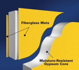 Polyurethane Cotaed of Fiberglass Mats pictures & photos