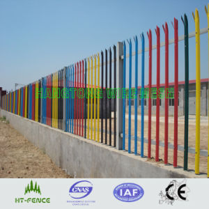 PVC Coated Euro Wrought Iron Fence pictures & photos