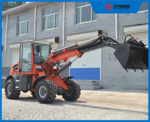 Accept OEM 1.5ton Telescopic Loader Made in China with Ce pictures & photos