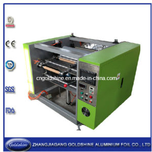 Semi-Automatic Aluminum Roll Rewinding Machine (GS-AF-100) pictures & photos