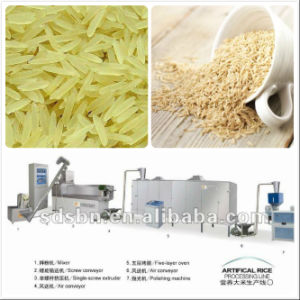 Hot Sale Thin and Long Artificial Rice Making Machine pictures & photos