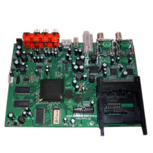 OEM SMT PCB Assembly / PCBA for Set-Top Box (PCBA-00036-BQC)