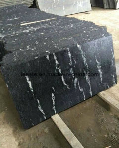 Polished Nero Blanco Grey Granite Wall Covering Natural Stone pictures & photos