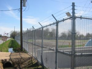 Anti-Climb Fence with Post Hot Dipped Galvanized