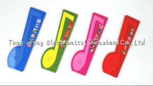 6 Button Sound Pad in Note Shaped, Indoor Musical Toddler Sound Book pictures & photos