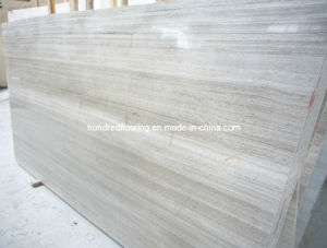 Haisa Light Grey Wood Vein Marble pictures & photos