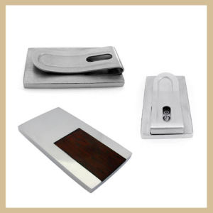 316l Stainless Steel Wallet Money Clip (TPMC107)