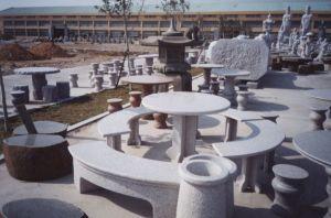 Stone Table, Garden Bench