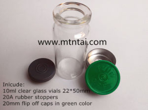 20mm Green Color Bottle Caps for Injection pictures & photos