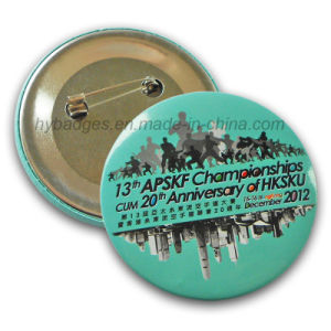 Button Badge Printing Corlorful Tin Badge (GZHY-MKT-025) pictures & photos