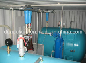 Containerized System Rotary Screw Air Compressor with Air Tank (KCCASS-18*2) pictures & photos