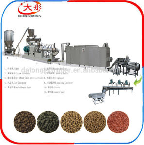 Floating Fish Food Pellet Processing Line pictures & photos