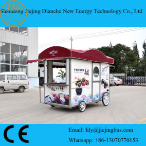 Beautiful and Comfortable Lunch Trailer with Insulation Material pictures & photos