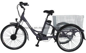 China Made Good Quality E Trike Electric Tricycle E-Bike Simple E-Tricycle EU Popular Type pictures & photos