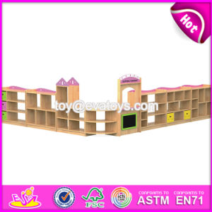 Customized Kindergarten Toy Storage Wooden Lemonade Stands for Kids W08c197 pictures & photos