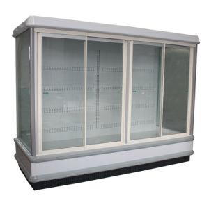 Sliding Door Upright Freezer pictures & photos