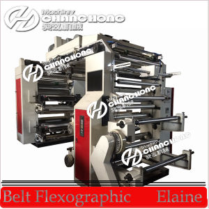 Four Colors Flexo Paper Printing Machinery pictures & photos