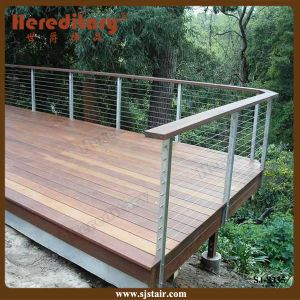 304/316 Stainless Steel Balustrade for Wire Mesh Deck Railing (SJ-H083) pictures & photos
